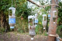 Water bottle planters