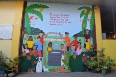 Mural at Girls' House