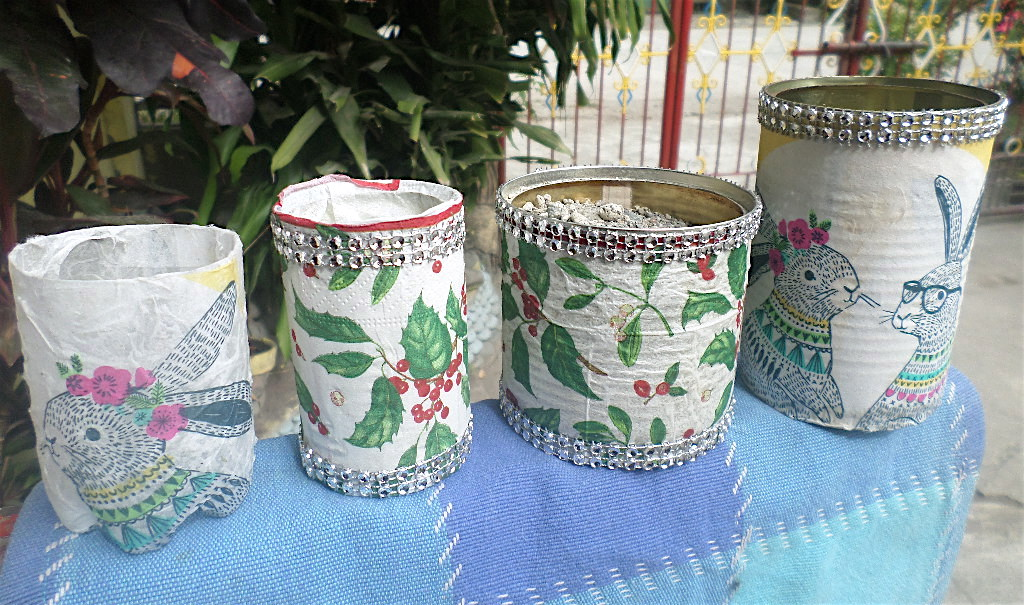 Decorated Cans
